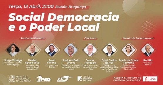 Social Democracia e o Poder Local - Bragança